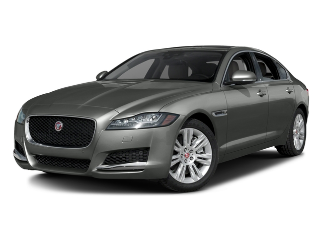 Ammonite Gray Metallic 2017 Jaguar XF Pictures XF Sedan 4D 35t Premium AWD V6 Sprchrd photos front view