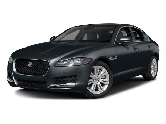 Celestial Black 2017 Jaguar XF Pictures XF Sedan 4D 35t Premium V6 Supercharged photos front view