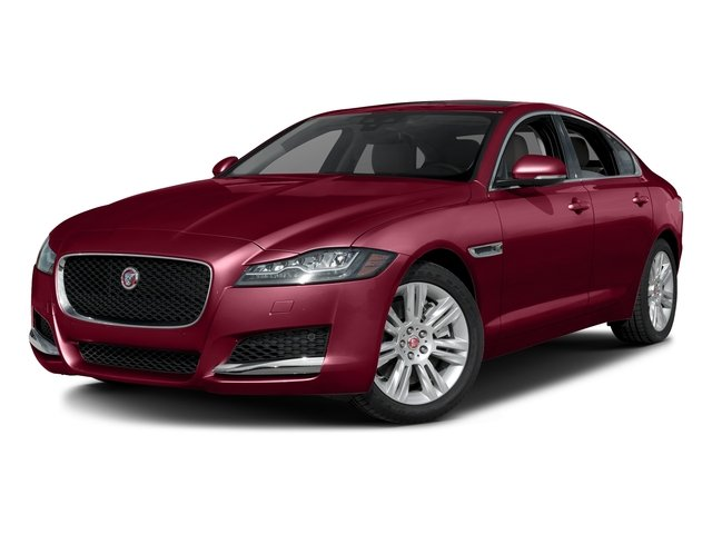 Odyssey Red Metallic 2017 Jaguar XF Pictures XF Sedan 4D 35t Premium V6 Supercharged photos front view