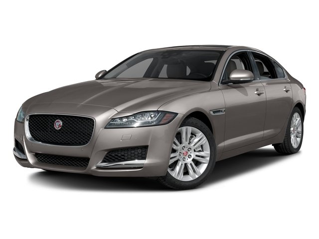 Ingot 2017 Jaguar XF Pictures XF Sedan 4D 35t Premium AWD V6 Sprchrd photos front view