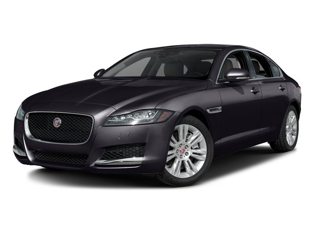 Black Berry 2017 Jaguar XF Pictures XF Sedan 4D 35t Premium AWD V6 Sprchrd photos front view