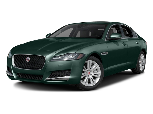 British Racing Green Metallic 2017 Jaguar XF Pictures XF Sedan 4D 35t Premium V6 Supercharged photos front view