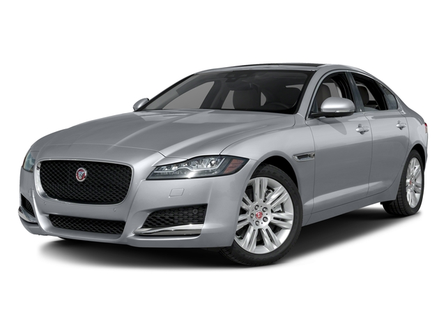 Glacier White Metallic 2017 Jaguar XF Pictures XF Sedan 4D 35t Premium AWD V6 Sprchrd photos front view