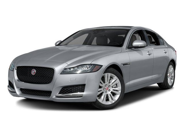 Glacier White Metallic 2017 Jaguar XF Pictures XF Sedan 4D 35t Premium V6 Supercharged photos front view
