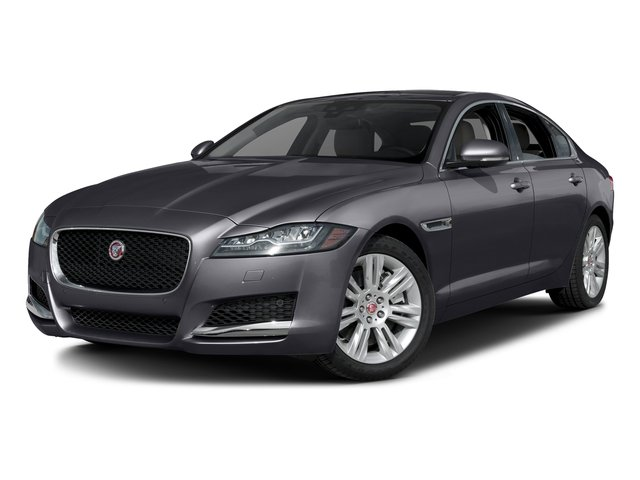 Tempest Gray 2017 Jaguar XF Pictures XF Sedan 4D 35t Premium V6 Supercharged photos front view