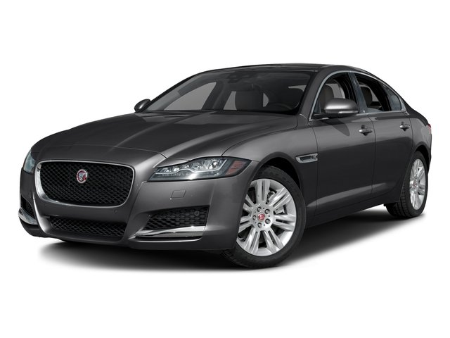 Storm Gray 2017 Jaguar XF Pictures XF Sedan 4D 35t Premium AWD V6 Sprchrd photos front view