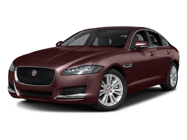 Aurora Red Metallic 2017 Jaguar XF Pictures XF Sedan 4D 35t Premium AWD V6 Sprchrd photos front view