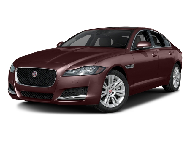 Aurora Red Metallic 2017 Jaguar XF Pictures XF Sedan 4D 35t Premium V6 Supercharged photos front view