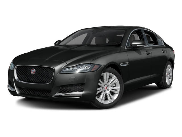 Cosmic Black 2017 Jaguar XF Pictures XF Sedan 4D 35t Premium AWD V6 Sprchrd photos front view