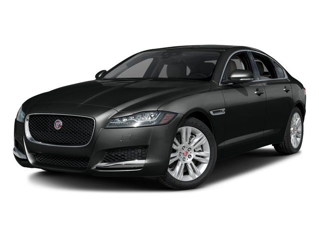 Cosmic Black 2017 Jaguar XF Pictures XF Sedan 4D 35t Premium V6 Supercharged photos front view