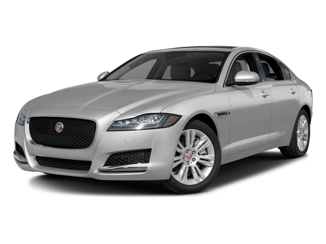 Gallum Silver 2017 Jaguar XF Pictures XF Sedan 4D 35t Premium AWD V6 Sprchrd photos front view