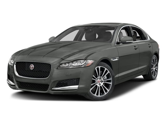 Ammonite Gray Metallic 2017 Jaguar XF Pictures XF 35t Prestige AWD photos front view