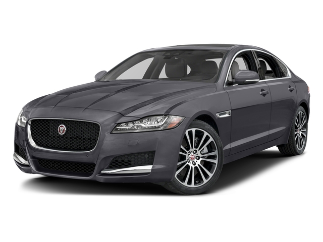 Tempest Gray 2017 Jaguar XF Pictures XF 35t Prestige AWD photos front view