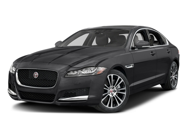 Ebony 2017 Jaguar XF Pictures XF 35t Prestige AWD photos front view