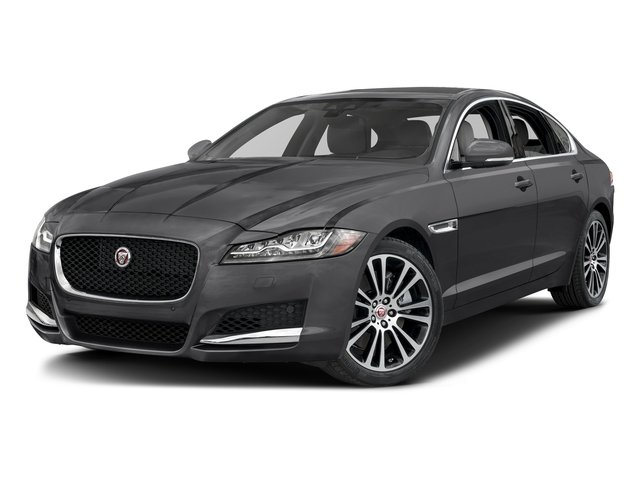 Storm Gray 2017 Jaguar XF Pictures XF 35t Prestige AWD photos front view