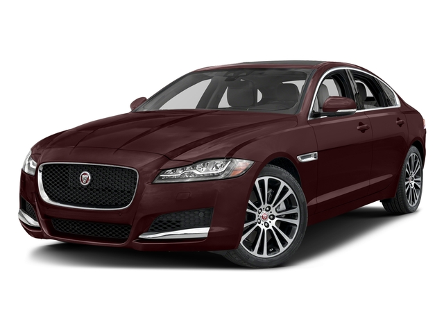 Aurora Red Metallic 2017 Jaguar XF Pictures XF 20d Prestige AWD photos front view