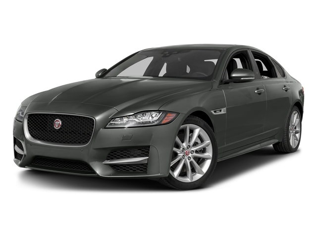 Ammonite Gray Metallic 2017 Jaguar XF Pictures XF 35t R-Sport RWD photos front view