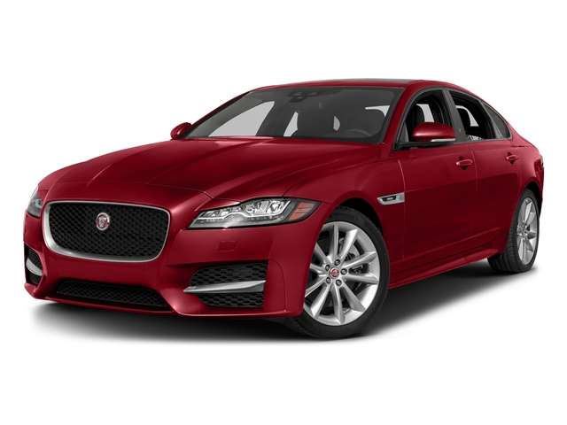 Italian Racing Red Metallic 2017 Jaguar XF Pictures XF 35t R-Sport RWD photos front view