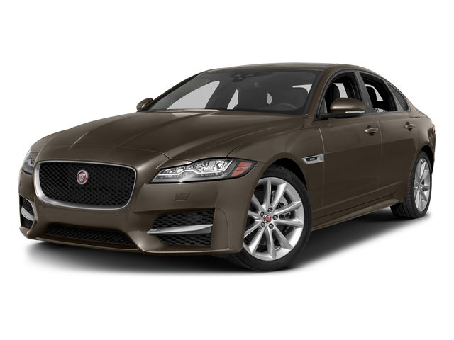 Quartzite Metallic 2017 Jaguar XF Pictures XF 35t R-Sport RWD photos front view