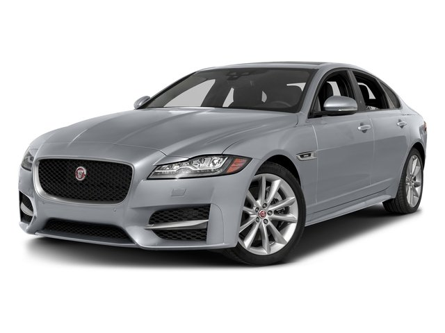 Glacier White Metallic 2017 Jaguar XF Pictures XF 35t R-Sport RWD photos front view