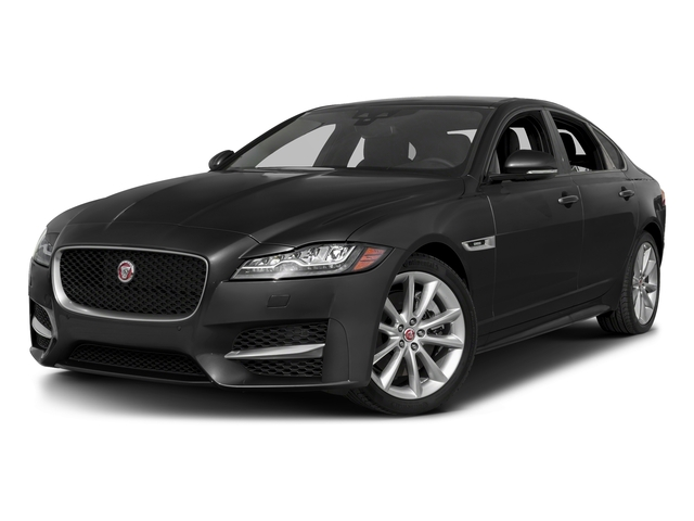 Storm Gray 2017 Jaguar XF Pictures XF 35t R-Sport RWD photos front view
