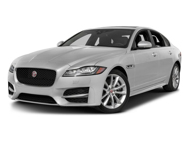 Gallum Silver 2017 Jaguar XF Pictures XF 35t R-Sport RWD photos front view