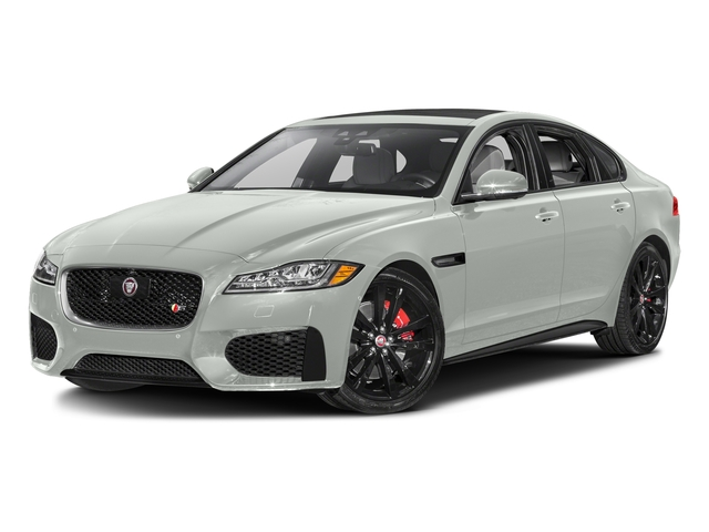 Polaris White 2017 Jaguar XF Pictures XF S RWD photos front view