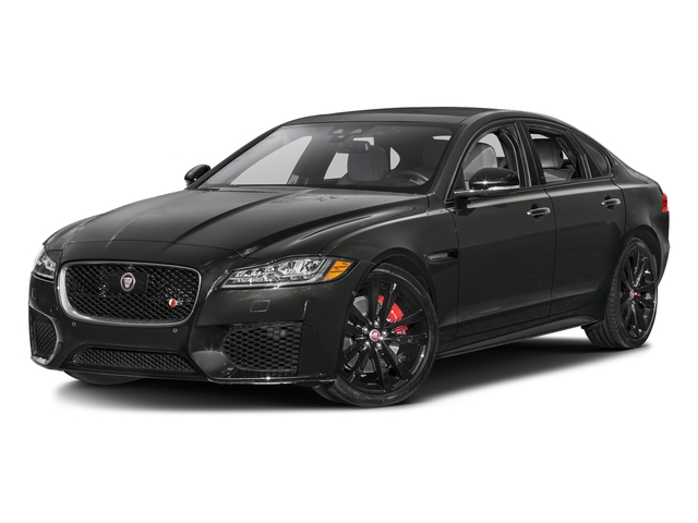 Ammonite Gray Metallic 2017 Jaguar XF Pictures XF S RWD photos front view