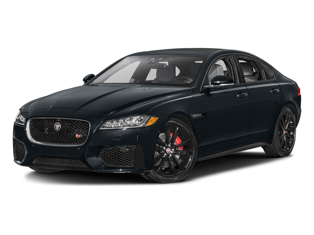 Celestial Black 2017 Jaguar XF Pictures XF S RWD photos front view