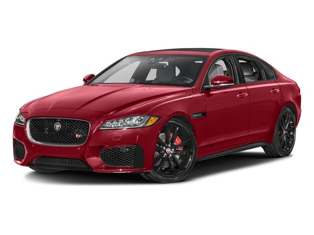 Italian Racing Red Metallic 2017 Jaguar XF Pictures XF S RWD photos front view