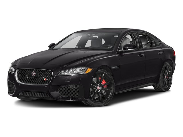 Ultimate Black Metallic 2017 Jaguar XF Pictures XF S RWD photos front view