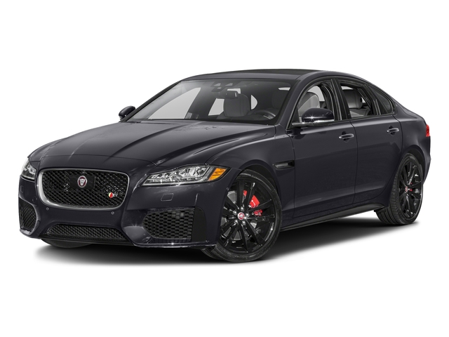 Tempest Gray 2017 Jaguar XF Pictures XF S RWD photos front view