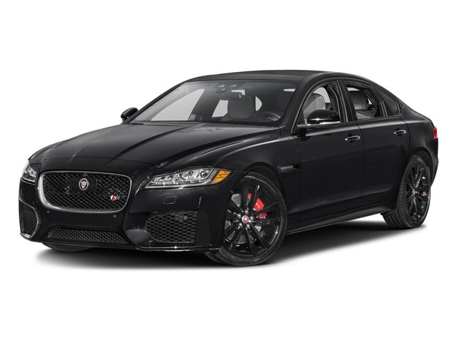 Ebony 2017 Jaguar XF Pictures XF Sedan 4D 35t AWD V6 photos front view