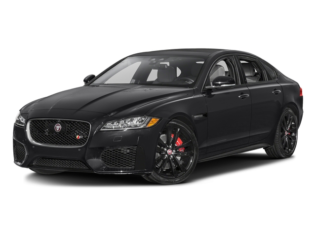 Storm Gray 2017 Jaguar XF Pictures XF S RWD photos front view