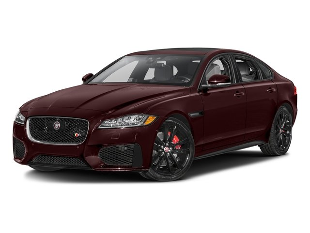 Aurora Red Metallic 2017 Jaguar XF Pictures XF S RWD photos front view