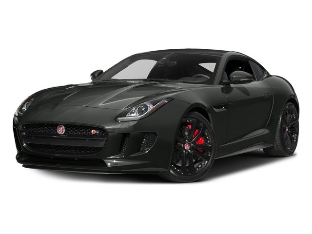 Ammonite Grey Metallic 2017 Jaguar F-TYPE Pictures F-TYPE Coupe 2D S V6 photos front view