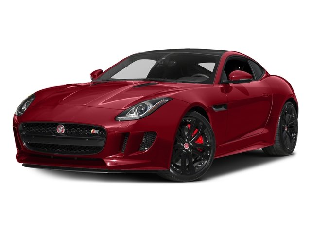 Italian Racing Red Metallic 2017 Jaguar F-TYPE Pictures F-TYPE Coupe 2D S V6 photos front view