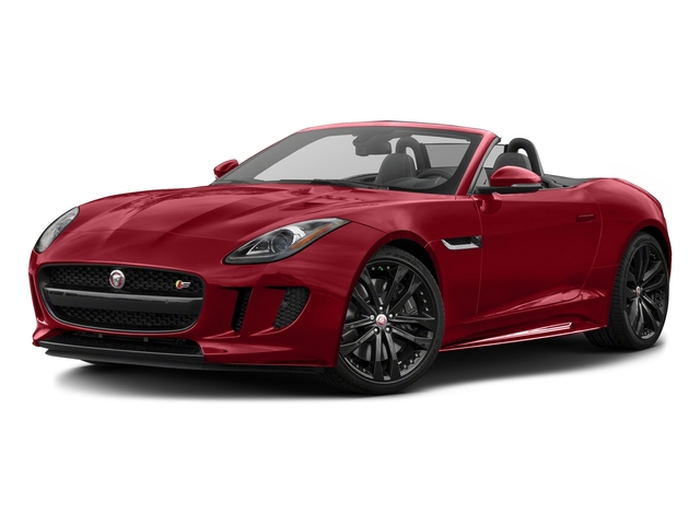 Italian Racing Red Metallic 2017 Jaguar F-TYPE Pictures F-TYPE Convertible 2D S AWD V6 photos front view