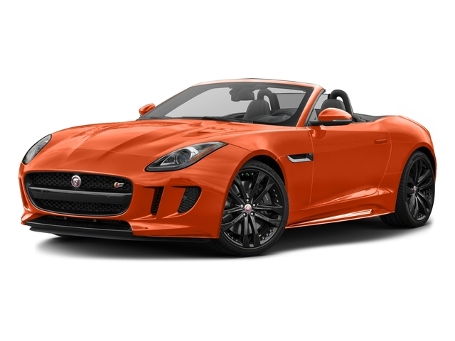 Firesand Metallic 2017 Jaguar F-TYPE Pictures F-TYPE Convertible 2D S AWD V6 photos front view