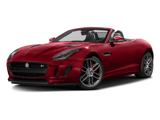 Italian Racing Red Metallic 2017 Jaguar F-TYPE Pictures F-TYPE Convertible 2D R AWD V8 photos front view