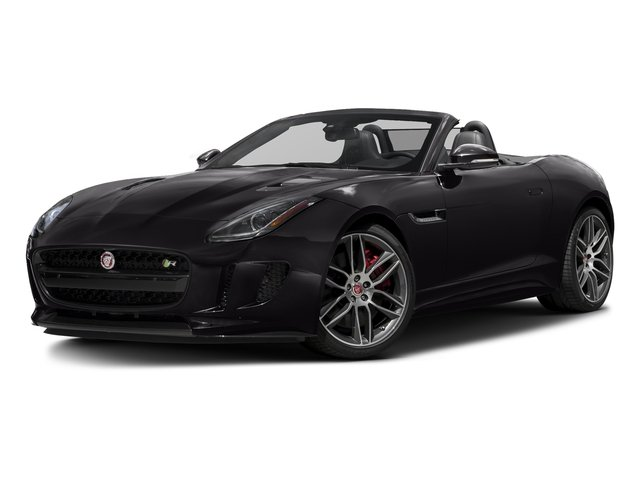 Ultimate Black Metallic 2017 Jaguar F-TYPE Pictures F-TYPE Convertible 2D R AWD V8 photos front view