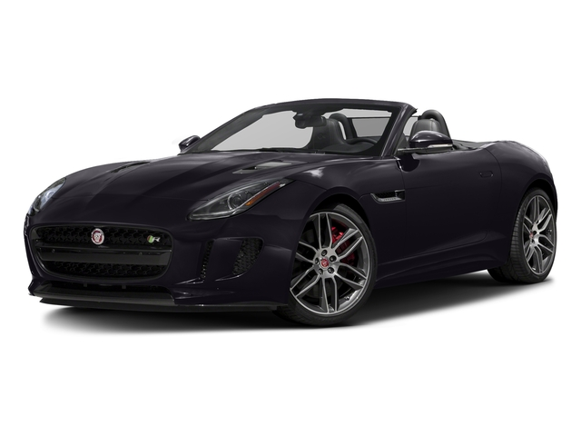 Black Berry 2017 Jaguar F-TYPE Pictures F-TYPE Convertible 2D R AWD V8 photos front view