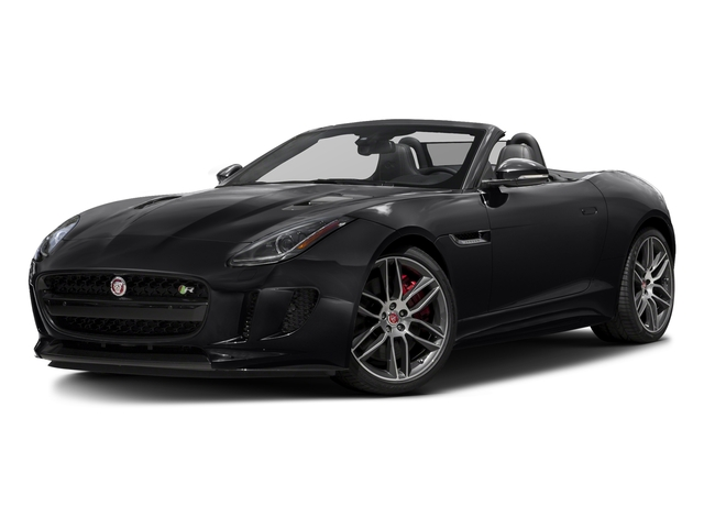 Storm Grey 2017 Jaguar F-TYPE Pictures F-TYPE Convertible 2D R AWD V8 photos front view