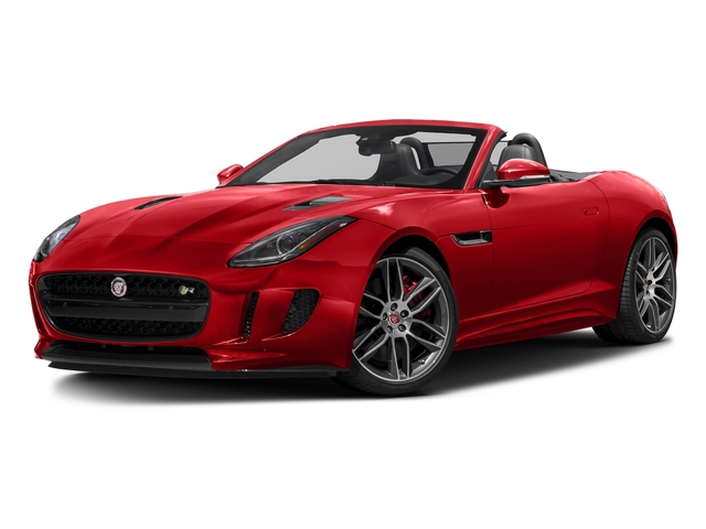 Caldera Red 2017 Jaguar F-TYPE Pictures F-TYPE Convertible 2D R AWD V8 photos front view