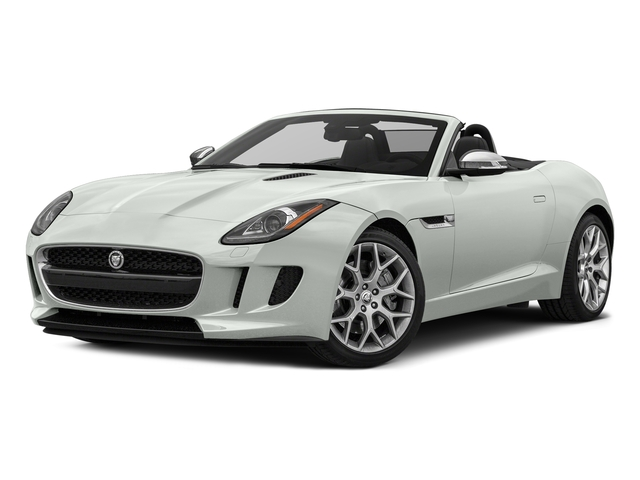 Polaris White 2017 Jaguar F-TYPE Pictures F-TYPE Convertible Auto photos front view