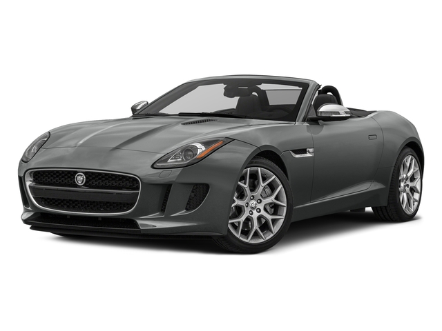 Ammonite Grey Metallic 2017 Jaguar F-TYPE Pictures F-TYPE Convertible 2D Premium V6 photos front view