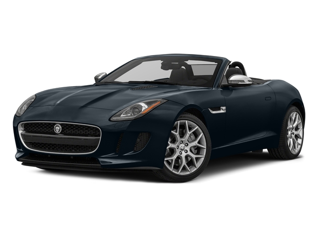 Dark Sapphire Metallic 2017 Jaguar F-TYPE Pictures F-TYPE Convertible Auto Premium photos front view