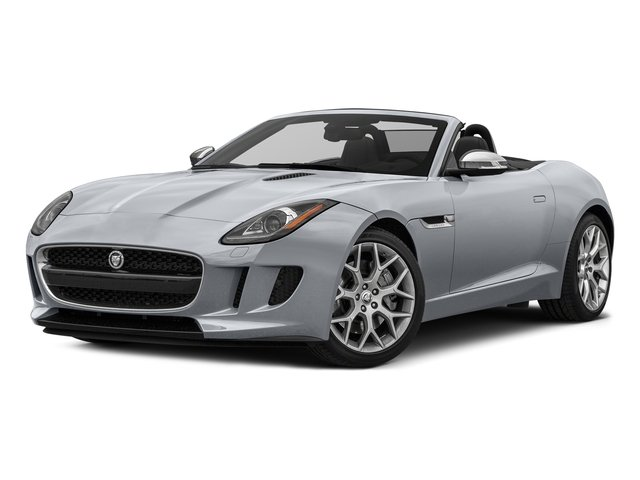 Glacier White Metallic 2017 Jaguar F-TYPE Pictures F-TYPE Convertible Auto Premium photos front view