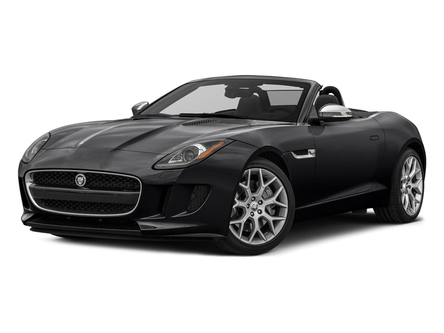 Ebony Black 2017 Jaguar F-TYPE Pictures F-TYPE Convertible Auto photos front view