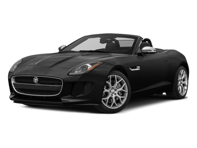 Storm Grey 2017 Jaguar F-TYPE Pictures F-TYPE Convertible Auto photos front view